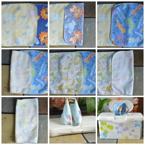 Cloth Wipes Folding