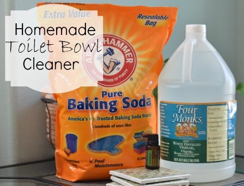 Green Cleaning Homemade Toilet Bowl Cleaner Sprouted
